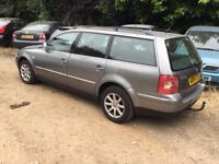 2004 Volkswagen Passat Estate,1.9tdi,leather,tow bar,clean,service history,excellent runner,ac,cd,
