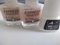 Nail polish: 4 different bottles