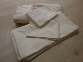 Pale Pink Double Duvet Set
