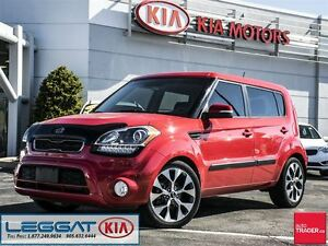 2012 Kia Soul 4u Luxury - No Accident, Navi, Heated Seats