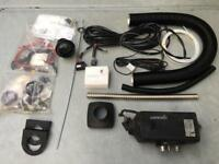 Eberspacher D2 24v heater with new fitting kit and supplied with fuel pump