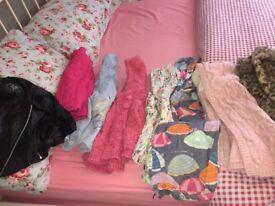 Girls coats 9-12 & 12-18 months