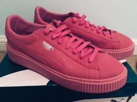 Fenty Puma creepers pink 8