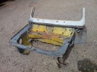 classic mini 1275 gt clubman shell inner wings front end and trailer project