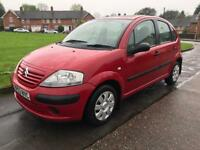 2003 (53) CITROEN C3 1.1 5 DOOR HATCHBACK NOT FIESTA 206 PUNTO CORSA CLIO CHEAP CAR