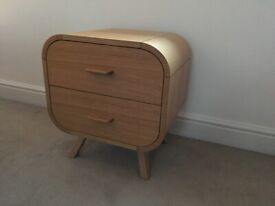Pair of solid wood Made bedside tables