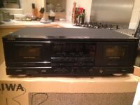 Aiwa Double cassette deck AD WX777 in VGCondition REDUCED