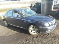 CHEAP CAR..NEED GONE PART EX IN..04 REG ROVER 75 WITH MOT TILL NOV..ALLOYS..CLIMATE CONTROL.CD/RADIO