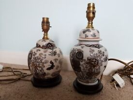 2 Chinese style lamps