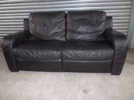 Genuine Natuzzi Italian Leather 3-2-1 Suite (Sofa)