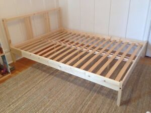 IKEA double mattress and frame