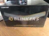 Bright cycling BLINKERS