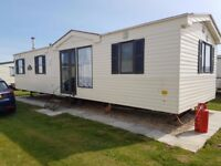 3 bedroom 8 berth caravan Chapel St Leonards,Skegness, Lincolnshire to rent/Hire