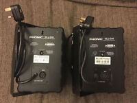 PHONIC SEp206 – Pair Of Active Monitor Speakers, Used, Excellent