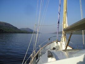 Reduced Price Fisher Freeward 30' ready to sail lying NE Scotland