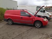 Vauxhall Astra van Breaking Spares or repairs