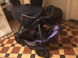 Double buggy Phil & Teds Dash