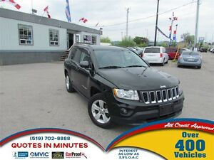 2013 Jeep Compass NORTH EDITION   4X4   CLEAN