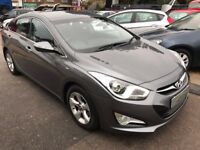 2013/13 HYUNDAI i40 1.7 CRDI ACTIVE 4 DR DIESEL GREY,,PRIVACY GLASS HIGH SPEC LOOKS AND DRIVES WELL