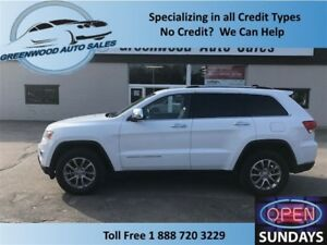 2014 Jeep Grand Cherokee Limited CLEAN UNIT... LEATHER & ROOF!