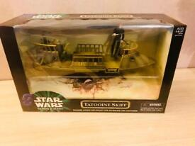 *RARE* Star Wars Power of The Force Jabba Skiff