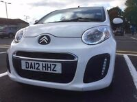 Citroen C1, single driver, 1 year MOT, 5 door, Zero tax