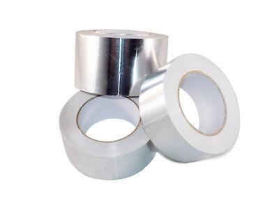 T.r.u. Af Heat Shield Resistant Aluminum Foil Tape Hvac 4in. X 50yds