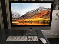 iMac 5,1 (Retina 5K, 27-inch, Late 2014) Keyboard and Wireless Mouse 4GHz Intel Core i7 16GB