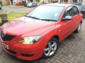 2006 Mazda 3 TS2, 1.6 Petrol, 5DR, Manual Red 1 YEAR MOT New Tyres, New Exhaust £1275 Golf