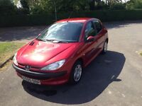 Peugeot 206 Genuine 57000 miles only with new clutch £795