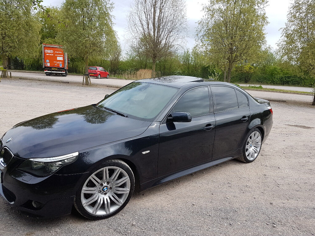 2008 bmw 535d lci m sport carbon black metallic fully loaded 287 bhp 43 400 miles in pitsea. Black Bedroom Furniture Sets. Home Design Ideas