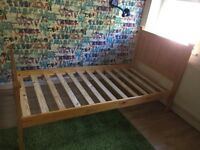 Pine Single bed for sell