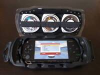 Original PSP (+games, films, case and charger)