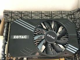 Zotac Nvidia GTX 1060 6GB Graphics Card