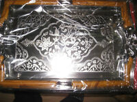 Silver colour medium tray- New