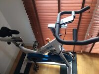 Bodymax B15 White Indoor Cycle Exercise Bike (2015 Model)