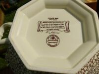 Adams China Chinese Bird serving bowl with lid
