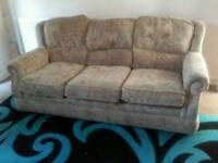 Settee and one chair
