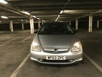 2003 (03) Honda Civic 1.6 automatic for sale