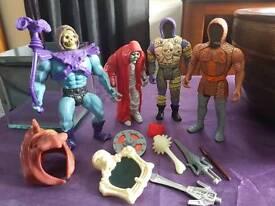 Vintage he - man figures