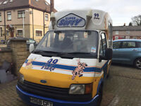 Ford Ice Cream Van, Carpigiani Machine