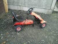 Boys pedal go kart