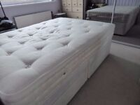The Old English Bedding Company double bed with 4 drawers