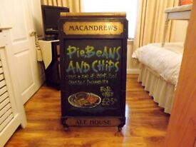 Vintage McAndrews Sandwich Board Sign