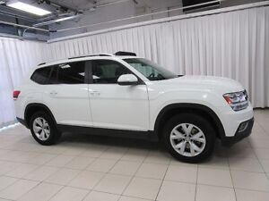 2018 Volkswagen Atlas V6 4MOTION AWD 7PASS SUV w/ HEATED LEATHER
