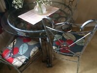 Dinning table and 4 chairs , good condition, £60 for quick sale
