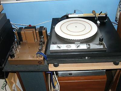 Vinyl LP to CD Transcription Service. Garrard 401 & valve amp analogue transfer.