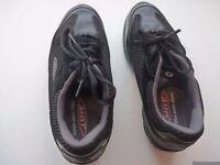 MBT orthopaedic shoes.