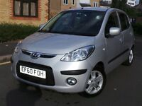 Hyundai i10 1.2 Comfort 5dr£2,495 p/x welcome 6 MONTHS WARRANTY INCLUDED