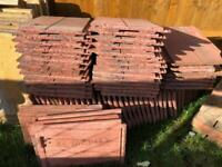 Marley Duo Edgemere old English Dark Red roof tiles